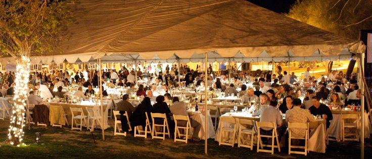 Harvest Dinner Tent