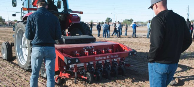Southwest Ag Summit tractor